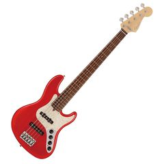 Fender Made in Japan Limited Deluxe Jazz Bass V Rosewood Fingerboard Crimson Red Burst エレキベース
