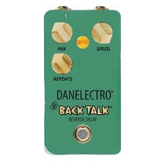 Danelectro BAC-1 BACK TALK Reverse Delay ギターエフェクター
