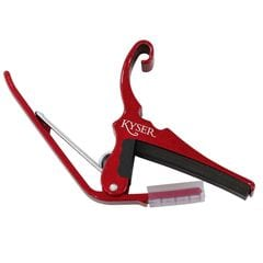 Kyser KG6R QUICK-CHANGE CAPO Red アコギ用カポタスト