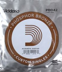 D'Addario PB042弦 Phosphor Bronze バラ弦