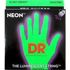 DR NEON GREEN DR-NGE10 Medium エレキギター弦