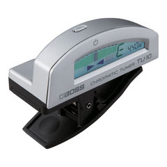 BOSS TU-10 SV Clip-on Chromatic Tuner クリップチューナー シルバー