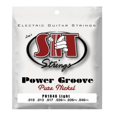 SIT STRINGS PN1046 LIGHT POWER GROOVE エレキギター弦