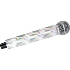 MicFX Chrome 3D Mic Sleeves for Shure Wireless ワイアレスマイクカバー