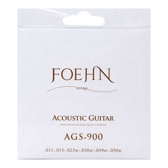 FOEHN AGS-900×3セット Acoustic Guitar Strings Custom Light 80/20 Bronze アコースティックギター弦 11-50