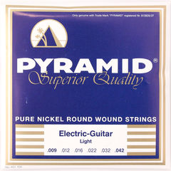 PYRAMID STRINGS EG Pure Nickel 009-042 エレキギター弦×3セット