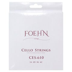FOEHN CES-610 Cello Strings 4/4 チェロ弦×2セット