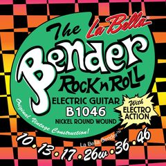 La Bella The Bender B1046 REGULAR 10-46 エレキギター弦 ×6セット