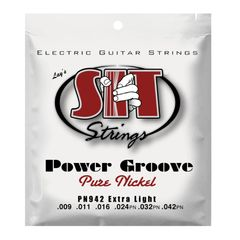 SIT STRINGS PN942 EXTRA LIGHT POWER GROOVE エレキギター弦×3セット