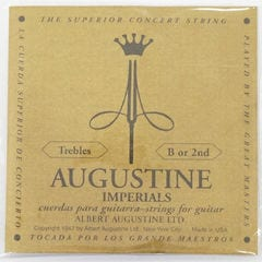 AUGUSTINE IMPERIAL 2nd 2弦 クラシックギター弦 バラ弦×6セット