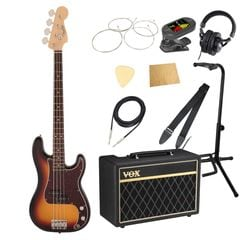 Fender Made in Japan Traditional 60s Precision Bass RW 3TS VOXアンプ付き エレキベース 入門 10点セット