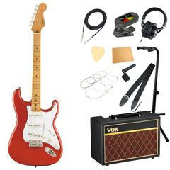 Squier Classic Vibe '50s Stratocaster MN FRD エレキギター VOXアンプ付き 入門11点セット