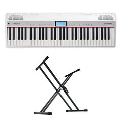 ROLAND GO-61P-A GO:PIANO with Alexa Built-in キーボード スタンド付きセット