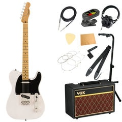 Squier Classic Vibe '50s Telecaster MN WBL エレキギター VOXアンプ付き 入門11点セット
