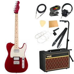 Squier Contemporary Telecaster HH DMR MN エレキギター VOXアンプ付き 入門11点セット