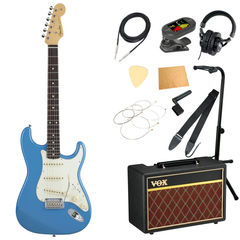 Fender Made in Japan Hybrid 60s Stratocaster Rosewood California Blue エレキギター VOXアンプ付き 入門11点セット