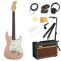 Fender Made in Japan Hybrid 60s Stratocaster Rosewood Flamingo Pink エレキギター VOXアンプ付き 入門11点セット