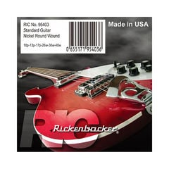 Rickenbacker Strings 95403 for Electric Guitar エレキギター弦×3セット