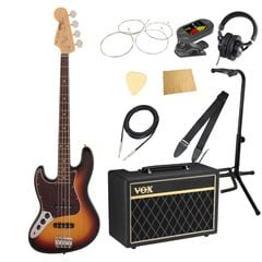 Fender Made in Japan Traditional 60s Jazz Bass LH RW 3TS VOXアンプ付き エレキベース レフティ 入門 10点セット