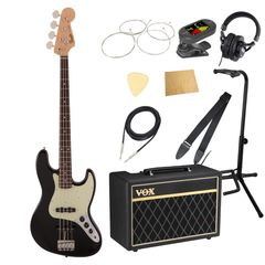 Fender Made in Japan Traditional 60s Jazz Bass RW BLK VOXアンプ付き エレキベース 入門 10点セット
