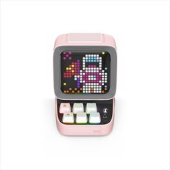 Divoom Ditoo Plus 多機能ブルートゥーススピーカー [ Pink ] DITOO-PLUS PINK